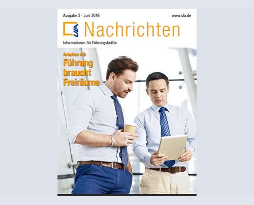 Cover ULA-Nachrichten Juni 2016