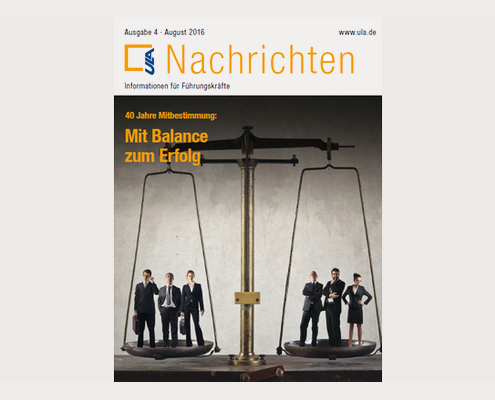 Cover ULA-Nachrichten August 2016