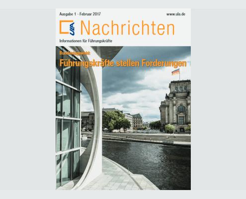 Cover ULA-Nachrichten Februar 2017