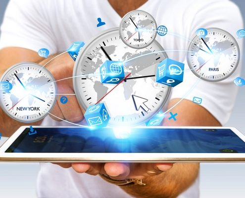 Symbolfoto Arbeitszeit, Arbeiten 4.0 © sdecoret – Fotolia.com ( #122616893)