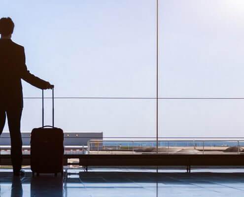 Symbolfoto Dienstreise, Mobilität