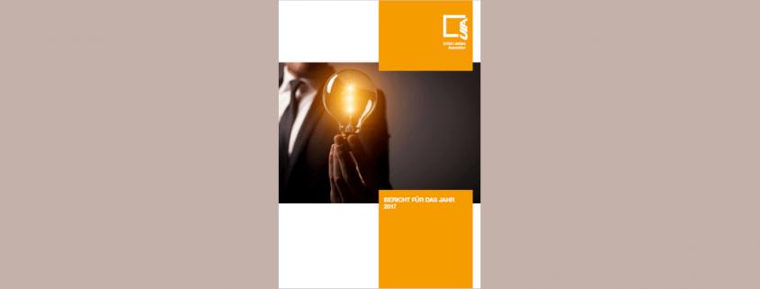Cover Jahresbericht 2016