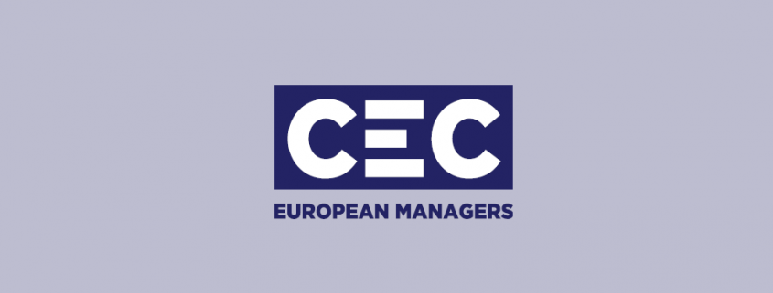 Banner CEC European Managers