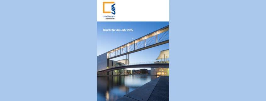 Cover Jahresbericht Bericht für das Jahr 2015