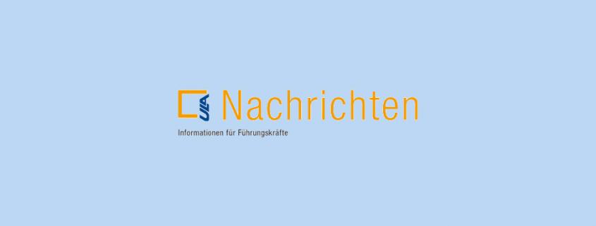 Cover ULA-Nachrichten blauer Hintergrund
